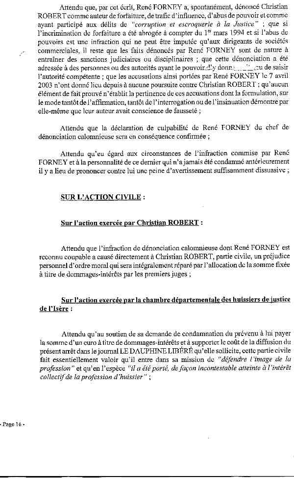 Index Of Traficjusticerequinsappelinternetarret - Chambre departementale des huissiers